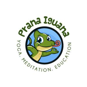 Fitness logo - Prana Iguana
