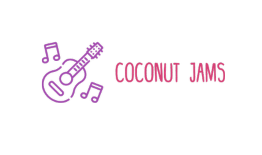 Custom logo made with Tailor Brands - Coconut Jams
