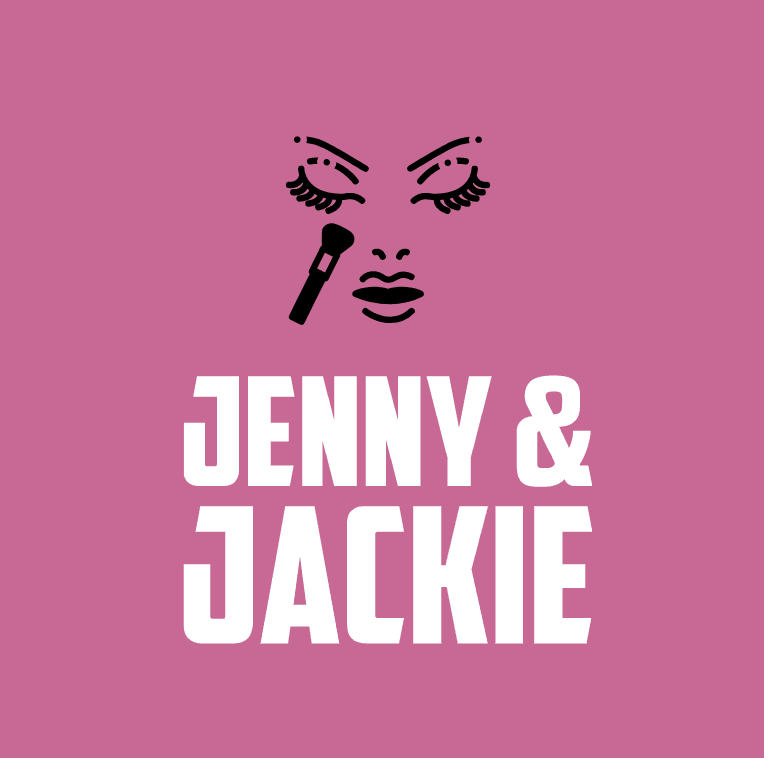 Custom logo made with Looka - Jenny & Jackie