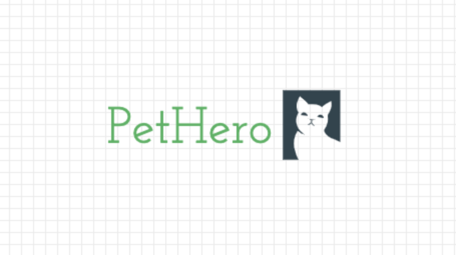 Custom logo made with LogoMaker - PetHero