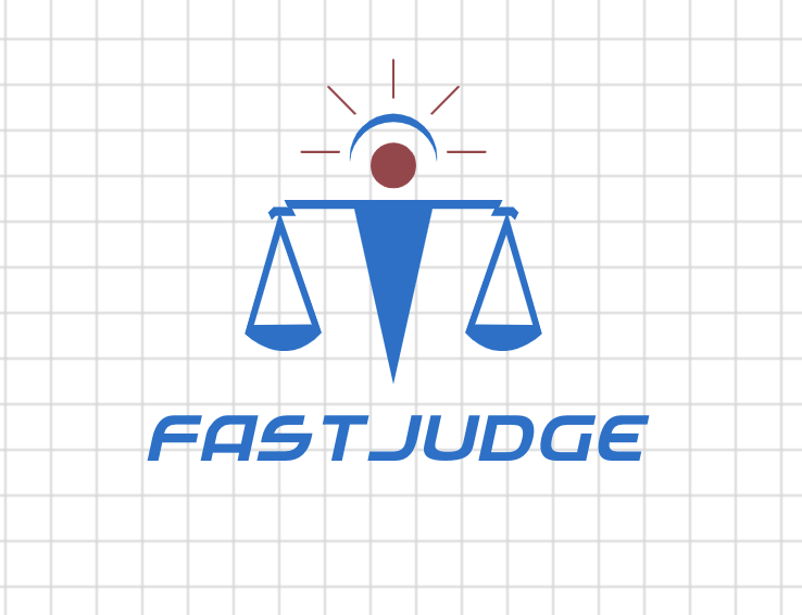 Custom logo made with DesignMantic - Fast Judge