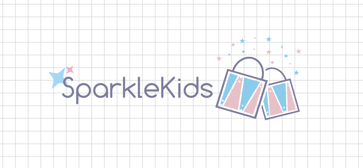 Custom logo made with DesignMantic - SparkleKids