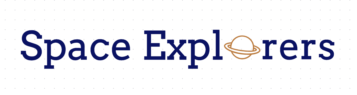 Free logo made with Squarespace Logo Maker - Space Explorers