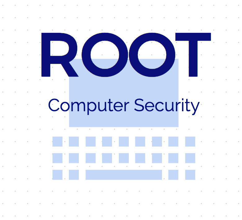 Free logo made with Squarespace Logo Maker - Root Computer Security