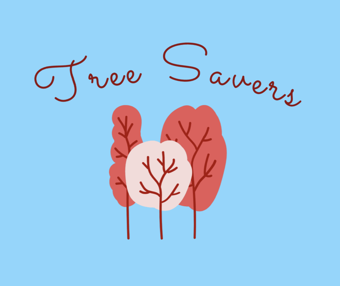 Sample logo made with Wix Logo Maker - Tree Savers
