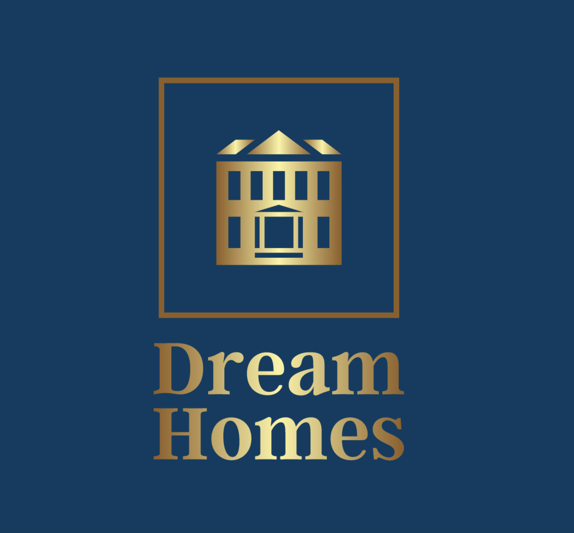 Sample logo made with Looka - Dream Homes