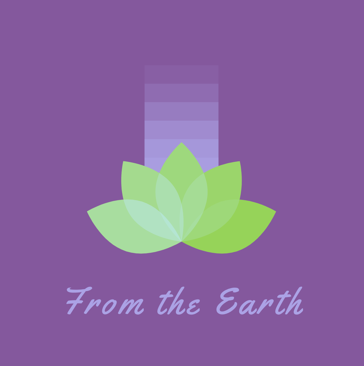 Sample logo made with Hatchful free logo maker - From the Earth