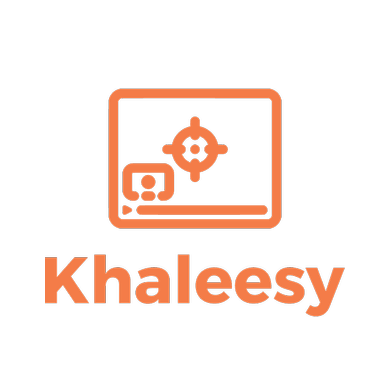 Twitch streamer logo created with Tailor Brands - Khaleesy
