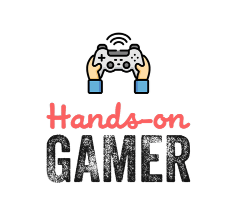Twitch streamer logo created with Tailor Brands - Hands-on Gamer