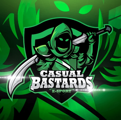 Twitch Streamer Logo - Casual Bastards