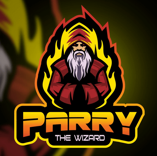 Twitch Streamer Logo - Parry the Wizard