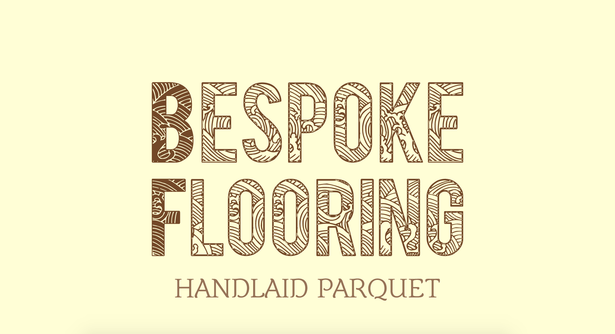 Sample woodworking logo made with Looka - Bespoke Flooring