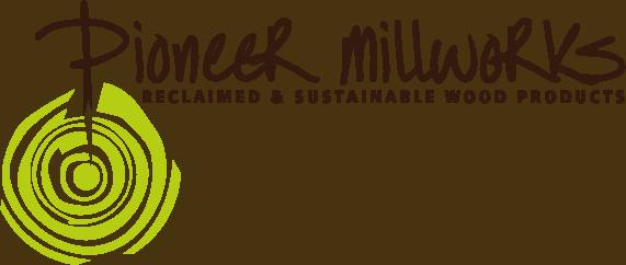 Woodworker logo: Pioneer Millworks