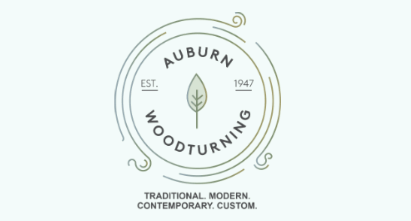Woodworker logo: Auburn Woodturning