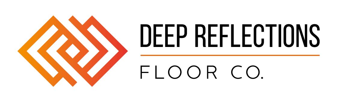 Woodworker logo: Deep Reflections Floor Co.