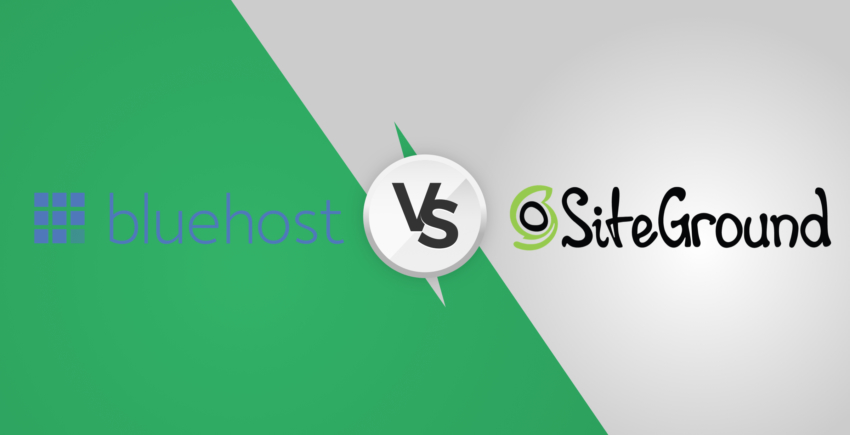 SiteGround vs Bluehost – One Surprising Winner [2019]