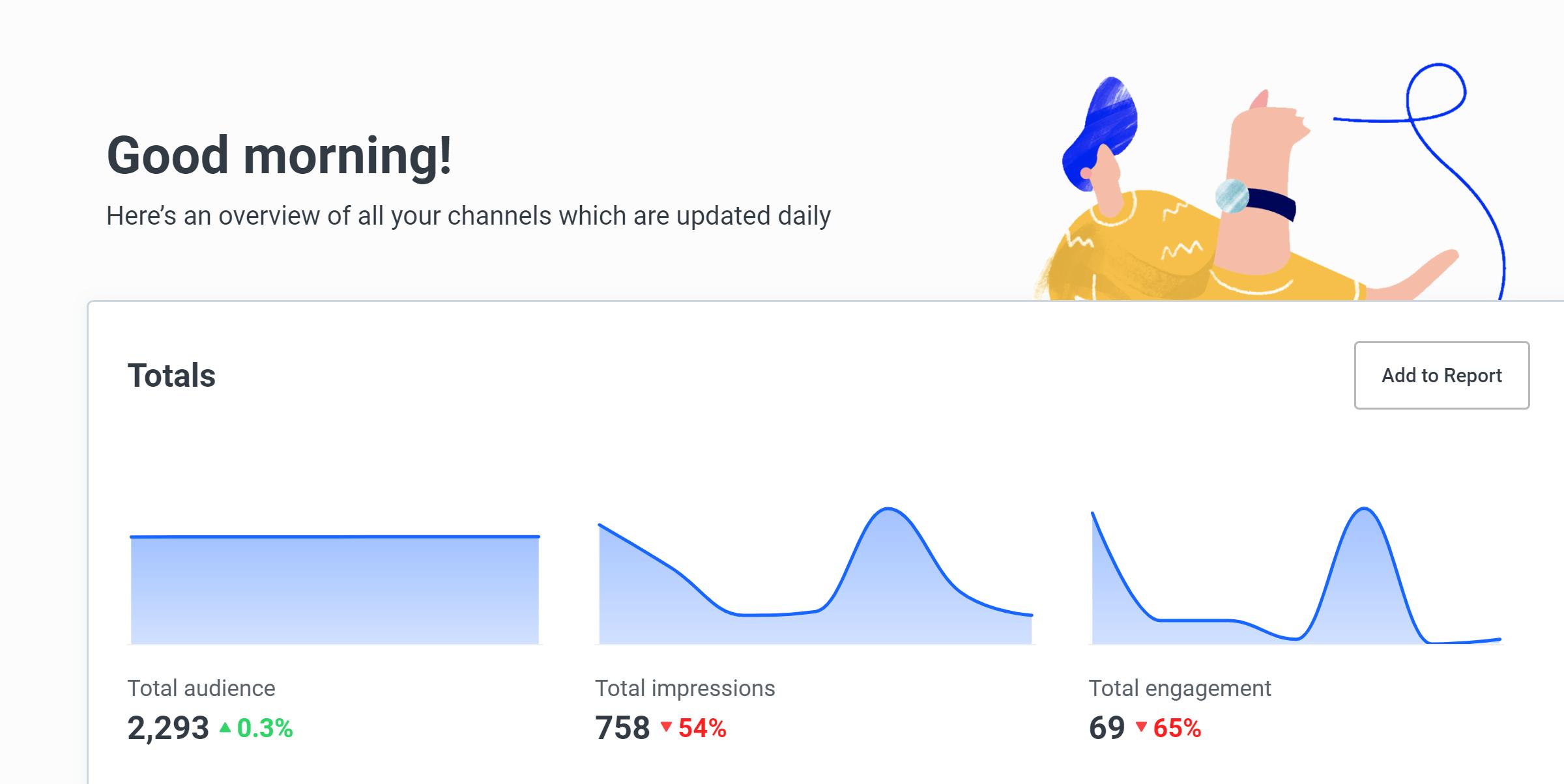 Buffer Analyze screenshot - Overview
