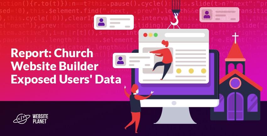 Report: Church Website Builder Leaves Clergy & Volunteer Data Vulnerable