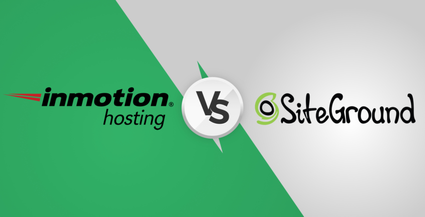 SiteGround vs InMotion: One Clear Winner [2020]