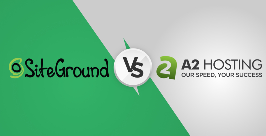 SiteGround vs A2 Hosting – Who Wins the Race in [2019]?