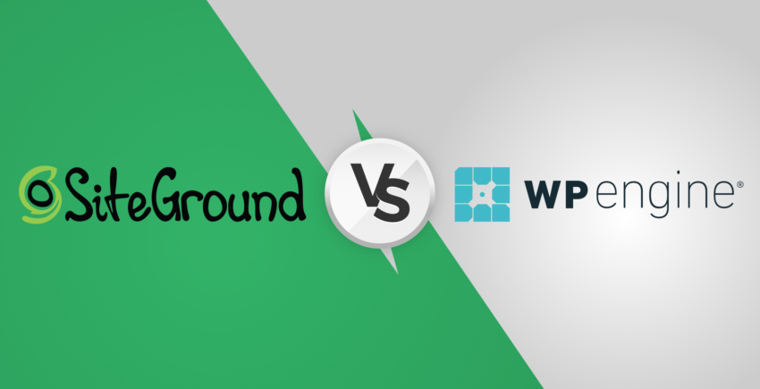 SiteGround vs WP Engine – Which is Best for WordPress Hosting [2019]?