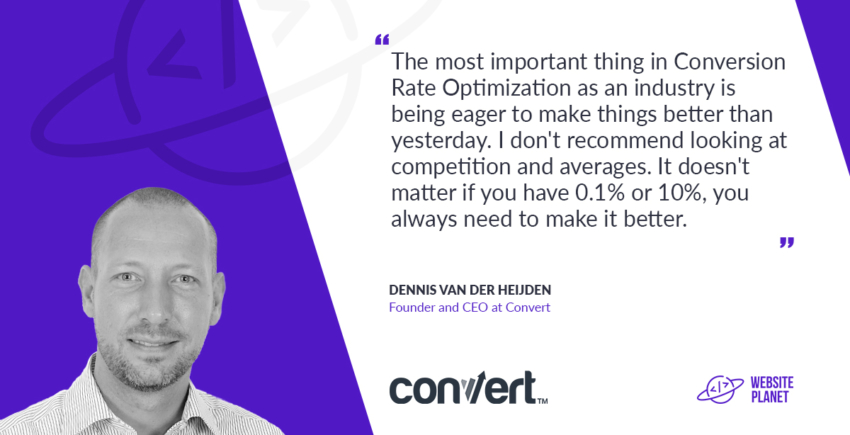 Interview with Convert CEO Dennis van der Heijden