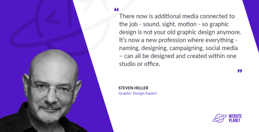 Author and Graphic Design Expert Steven Heller Talks Successful Logo Design