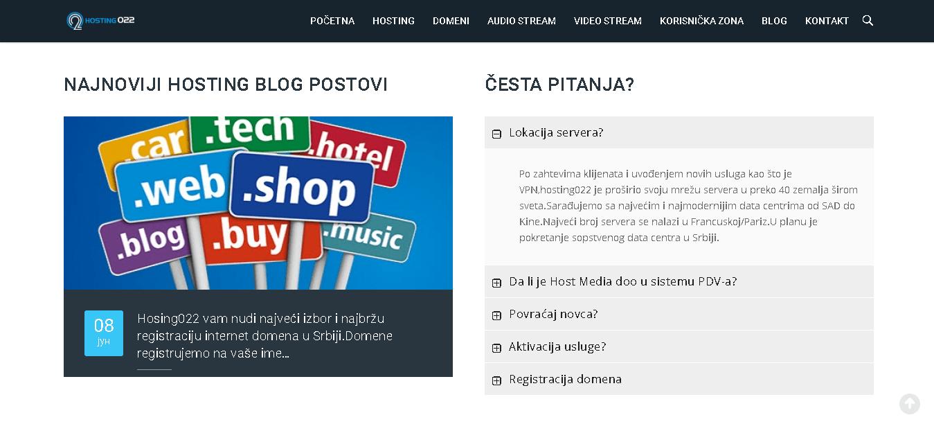 hosting22 main