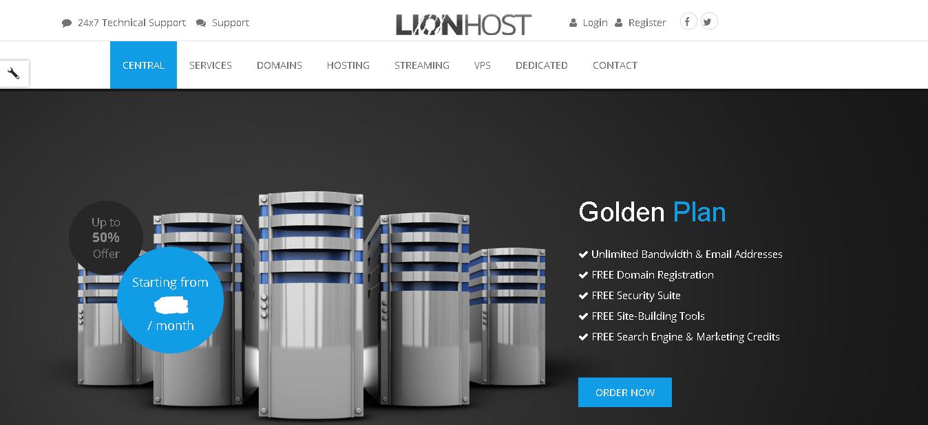 lionhost main