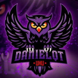 Twitch streamer logo from Fiverr - purple