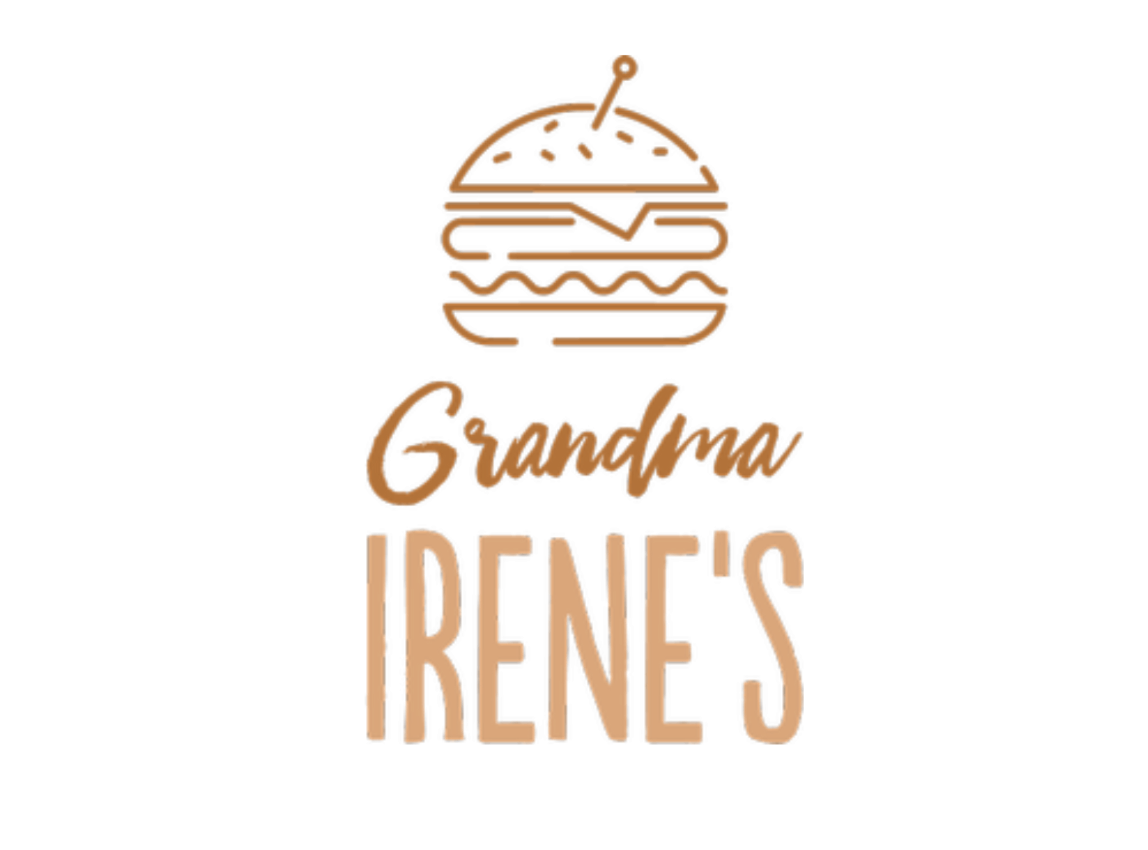 Vintage logo made with Tailor Brands - Grandma Irene's