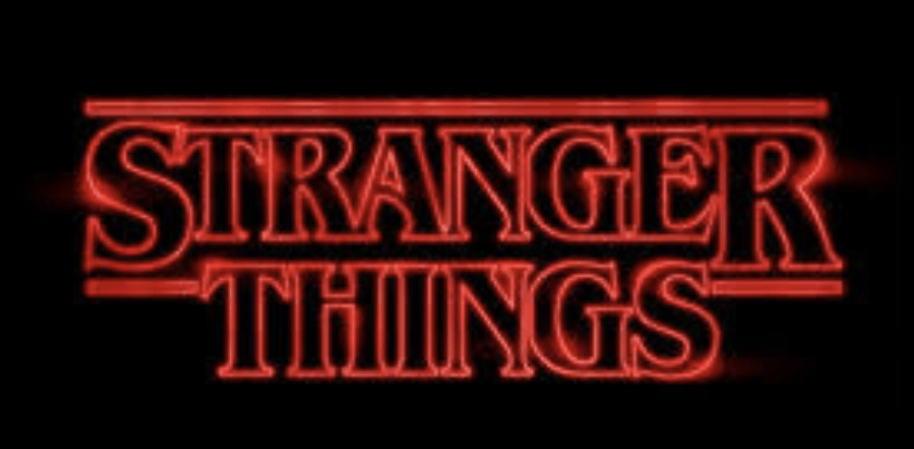 Vintage logo - Stranger Things