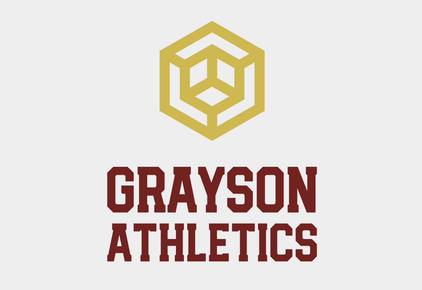 Vintage logo made with Looka - Grayson Athletics