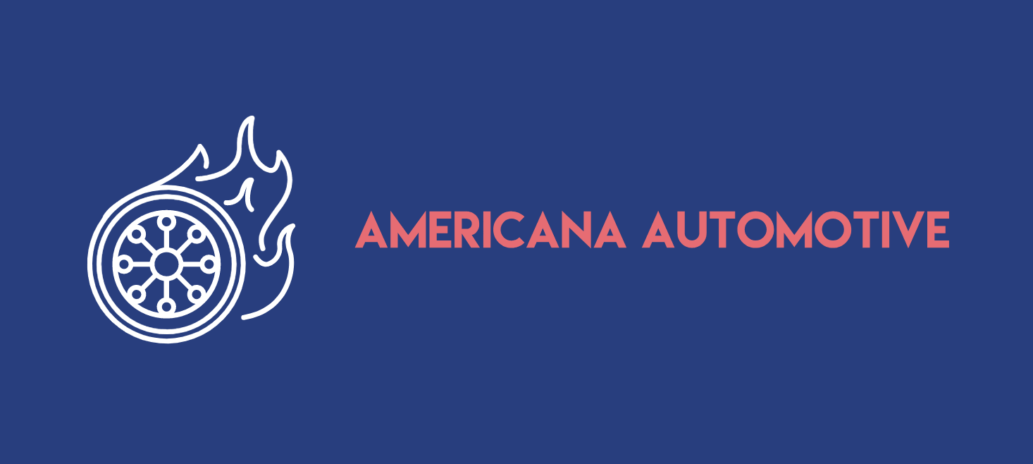 Vintage logo made with Looka - Americana Automotive
