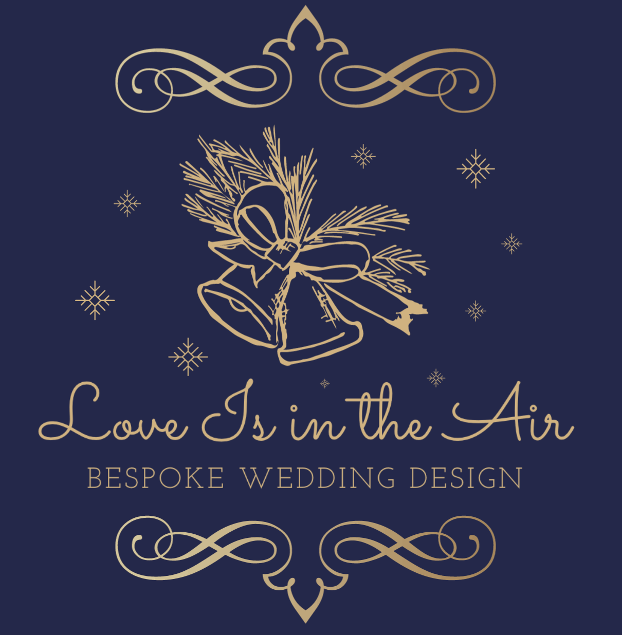 Vintage logo made with DesignEvo - Love Is in the Air