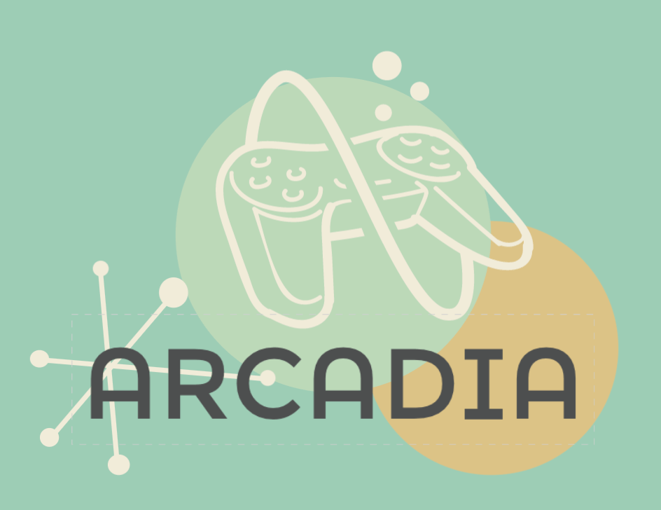 Vintage logo made with DesignEvo - Arcadia