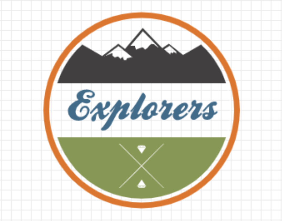 Vintage logo made with LogoMaker - Explorers