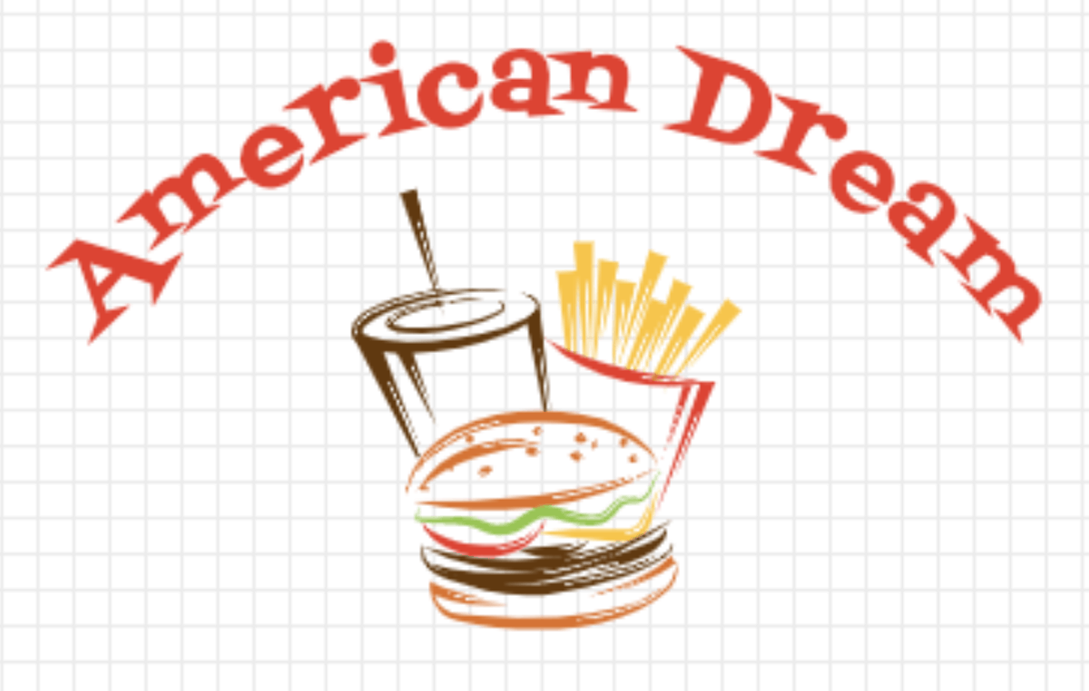 Vintage logo made with LogoMaker - American Dreams