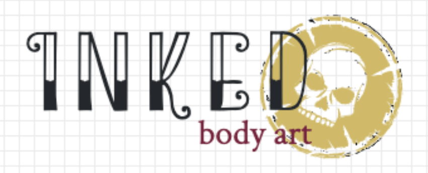 Vintage logo made with LogoMaker - Inked Body Art