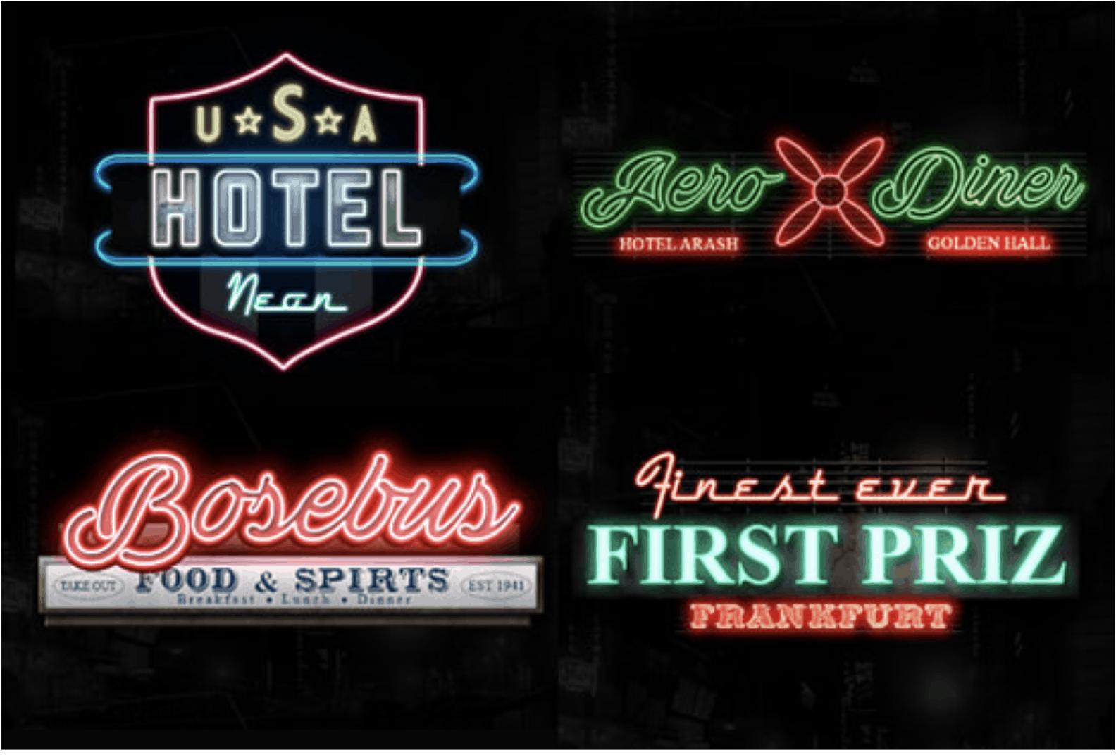 Vintage logos by Fiverr designer