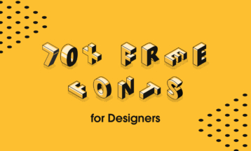 70+ Best Free Fonts for Designers – Free for Commercial Use in 2020