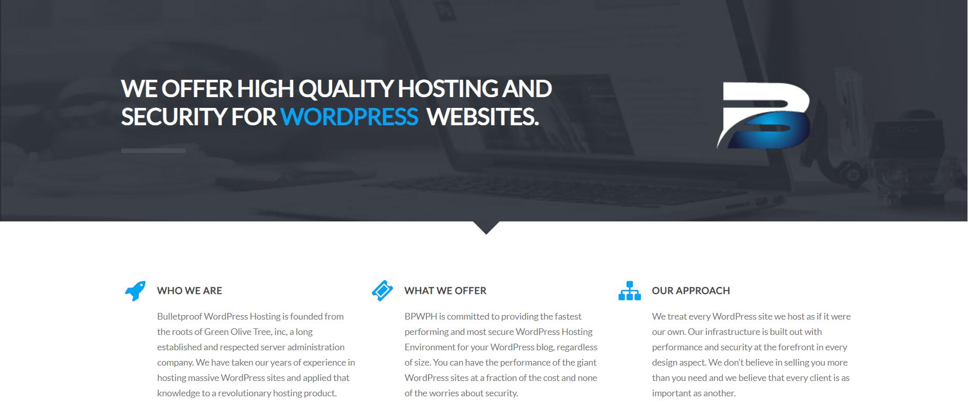 Bulletproof WordPress Hosting
