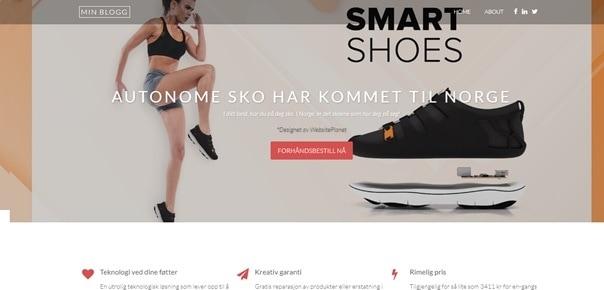 Vår testside - Autonome Smart-Sko