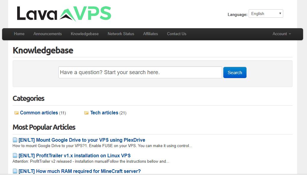 Lava VPS