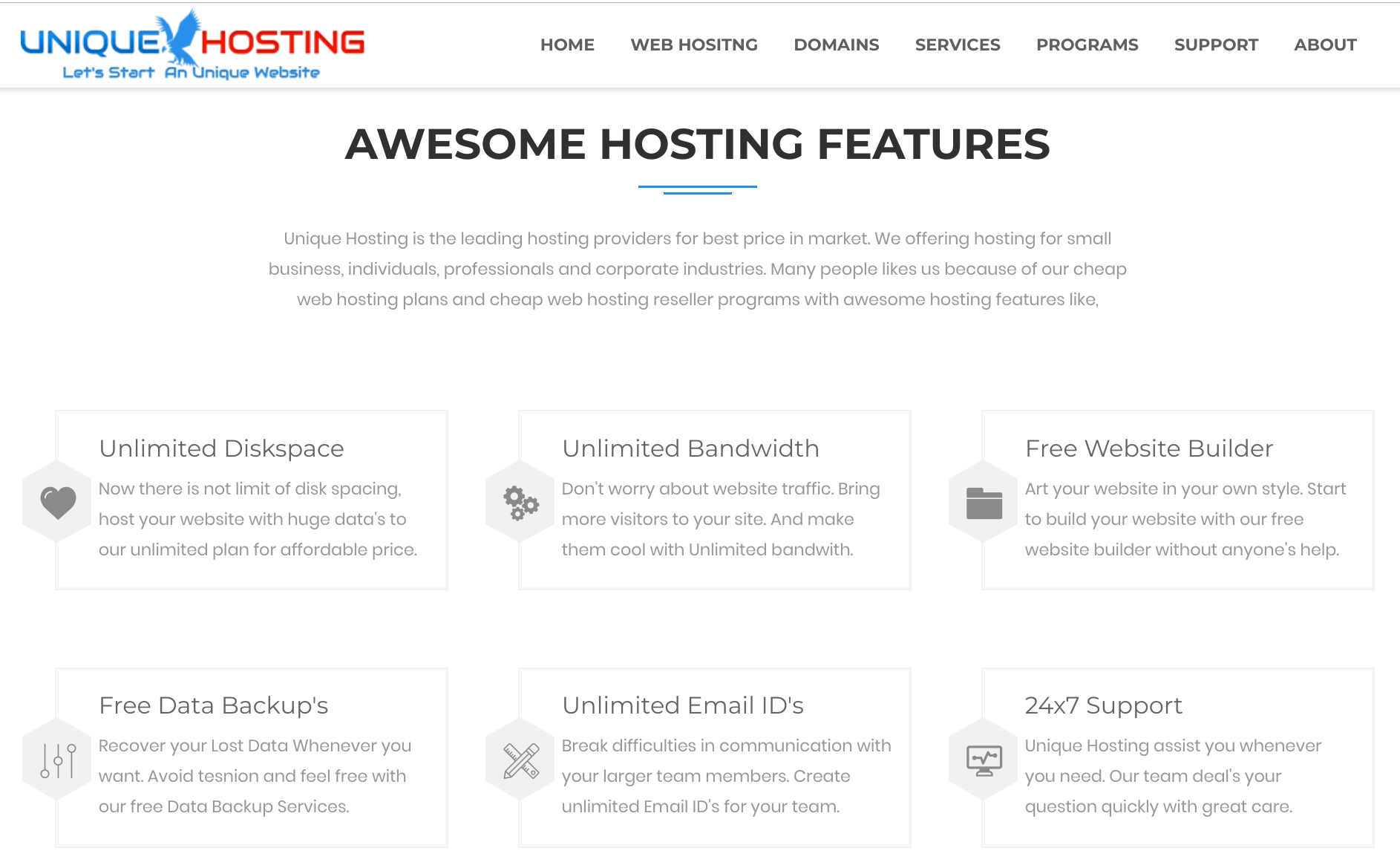 Unique Hosting