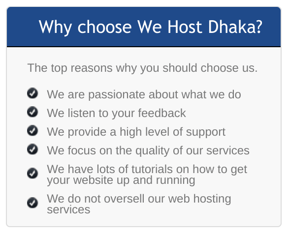 We Host Dhaka