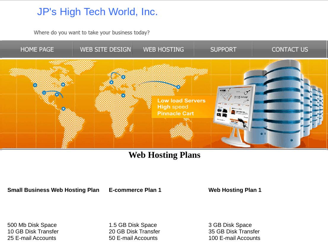 JP's High Tech World