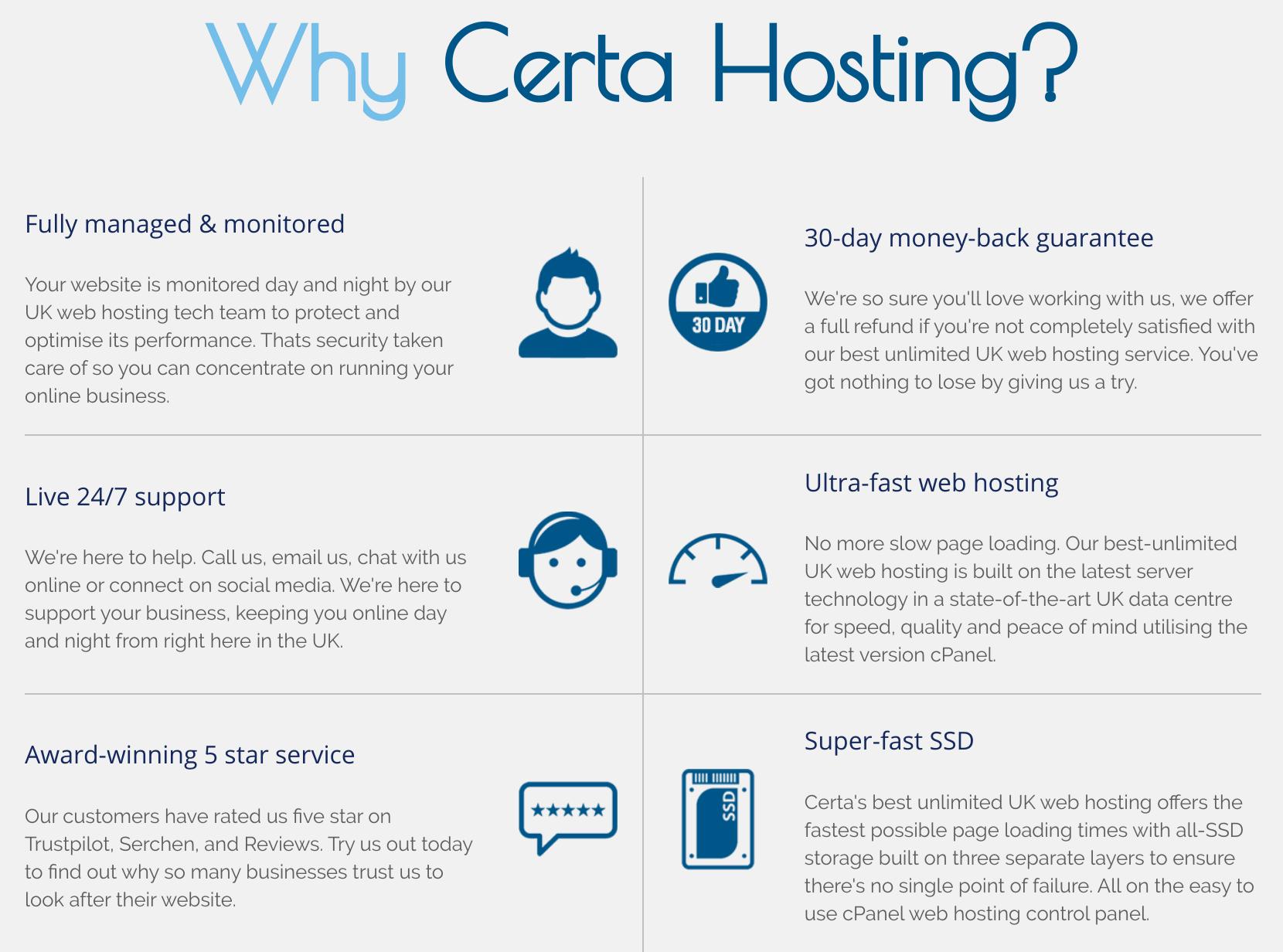 Certa Hosting