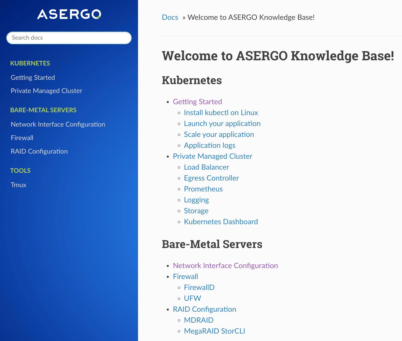 ASERGO