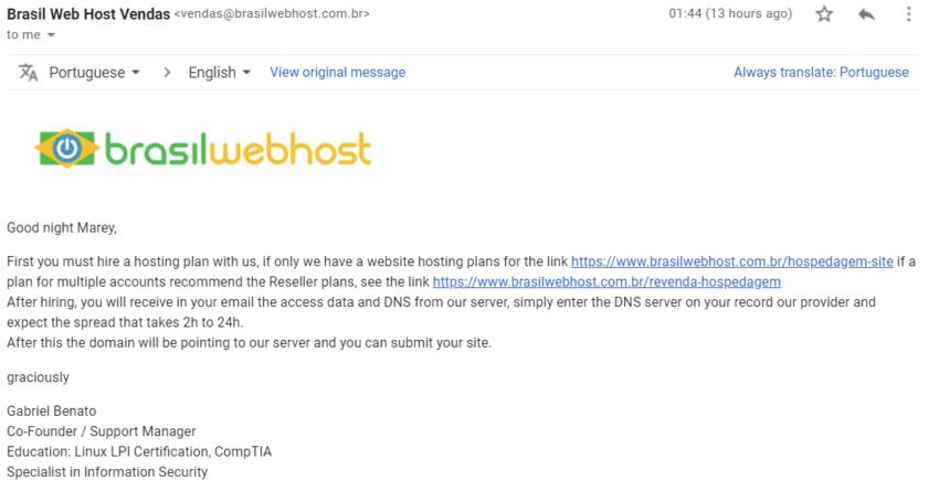Brasil Web Host